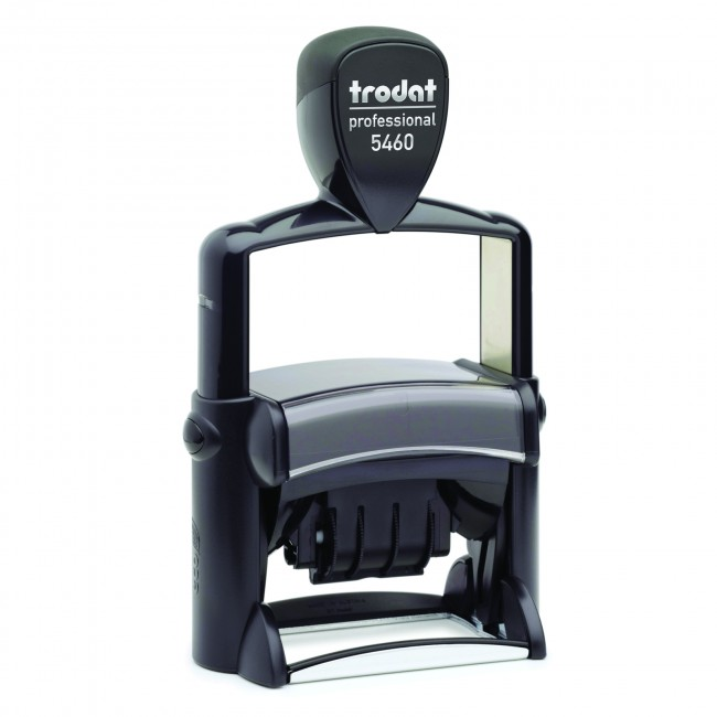 "Trodat 5460 Self-Inking Die-Plate Dater (1 9/16"" x 2 3/8"")"